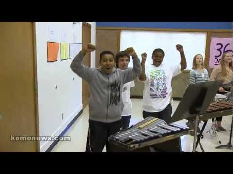College Place Middle School gets a surprise musical donation