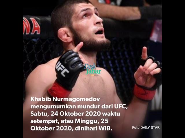 Khabib Nurmagomedov Mundur dari UFC, Alasannya Membuat Banyak Orang Terharu