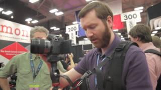 Product Demo: Dougmon Camera Stabilizer at the 2013 SXSW Trade Show