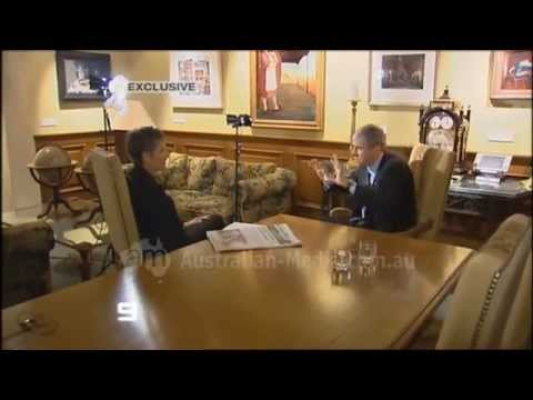 STW National Nine News Perth - Kerry Stokes interview (April 22, 2008)