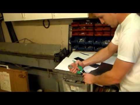 How to use tins snips or aviation snips to cut sheet metal correctly