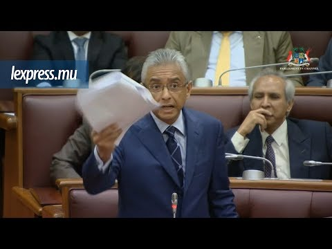 «Bouffon !» lance Pravind Jugnauth au Parlement
