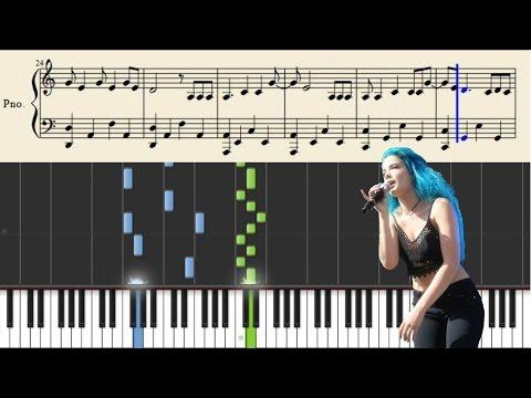 Halsey - Young God - Piano Tutorial + Sheets