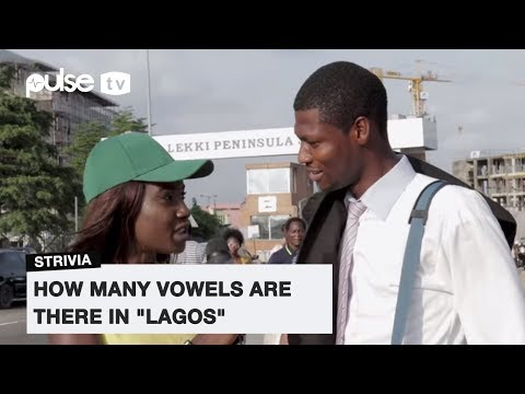 """How Many Vowels Are There In """"LAGOS"""" ?
