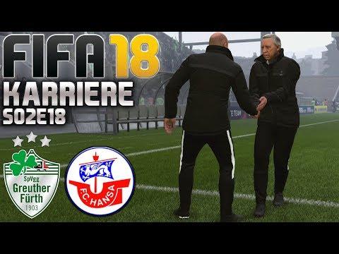 FIFA 18 KARRIERE ⚽ S02E18 • Greuther Fürth vs. Hansa Rostock • LET'S PLAY