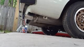 1980 Mazda RX-7 Cold Start