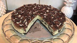 Oreo cheese cake tarifi/oreo bisküvili cheese cake nasıl yapılır/farklı bir lezzet arayanlar buyurun