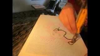 Урок вышивки гобелена ЗАЯЦ! PONTO RUSSO Punch Needle Art SensЭй