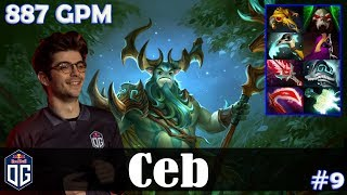 Ceb - Nature's Prophet Offlane | 887 GPM | Dota 2 Pro MMR Gameplay #9