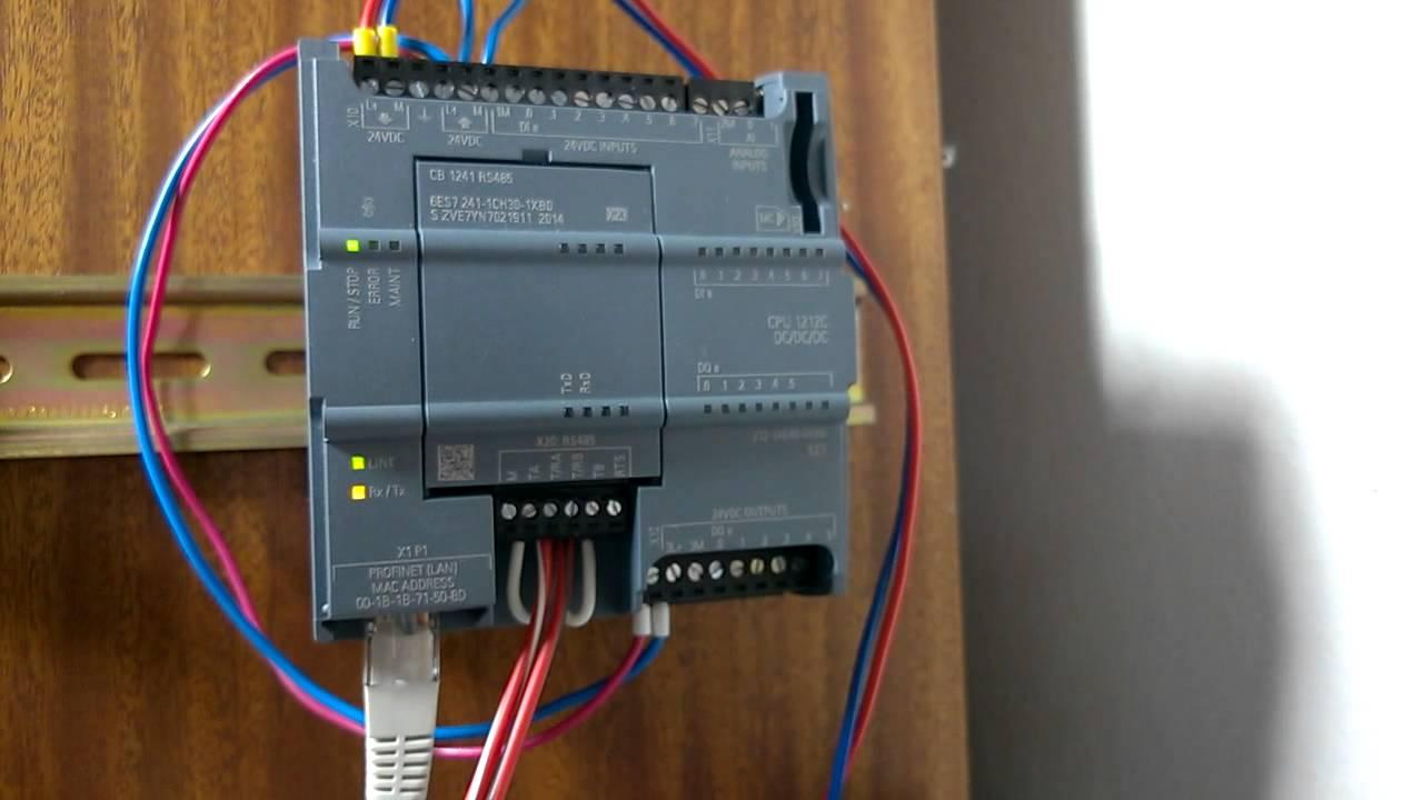 medium resolution of s7 1200 s pt100 modulem p es modbus rtu modbus rtu in s7 1200 with rs485 connector wiring s7 rs485 wiring