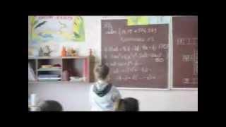 Интегрированный урок (Математика + биология). Чвирова Л.Н.(В этом видео показаны фрагменты урока алгебры в 7 классе, Донецкой ОШ № 69. Учитель Чвирова Л.Н., 2013-12-09T18:40:10.000Z)
