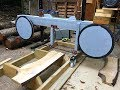 Building a bandsaw mill part 4.