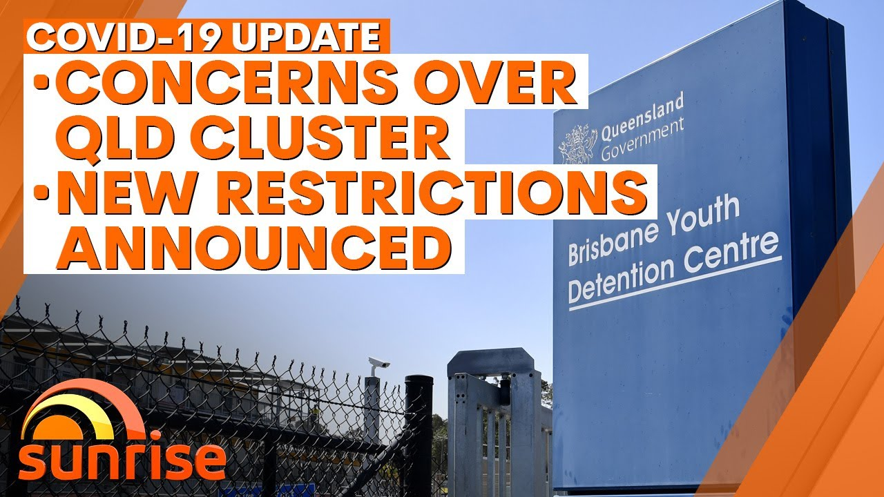 COVID-19 Update - Monday, August 24: Concerns over new Queensland cluster, new restrictions   7NEWS
