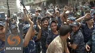 """Iraqi forces celebrate in Mosul as military says """"victory"""" is imminent"""