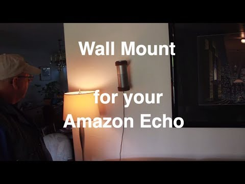 Make a Wall Mount for your Amazon Echo