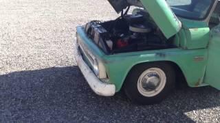 1966 Chevy c10 patina rat rod