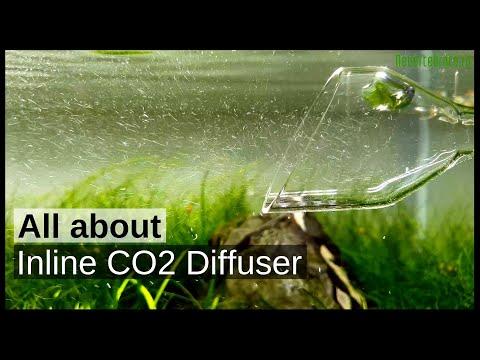 Atomizor-difuzor inline CO2