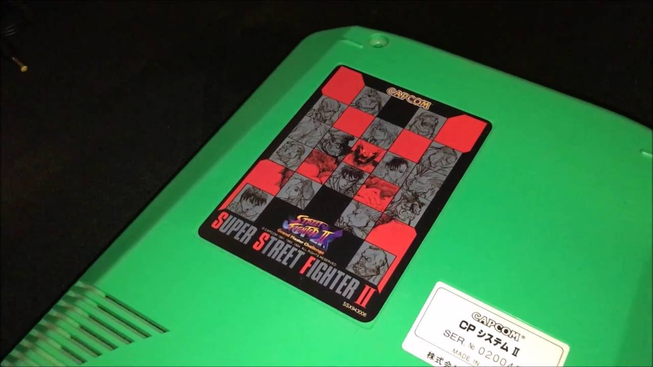 Overview UD-CPS2 (Undamned -CP System II) Supergun Consolized Arcade Board