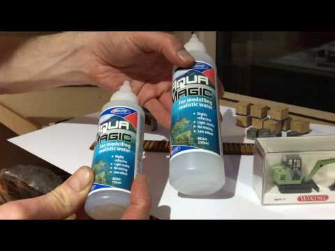Scale Model Scenery: Vlog #7 – LX086 Culverts, AX028 & AX029 Pallet Loads LX107 Canal Piling Kit