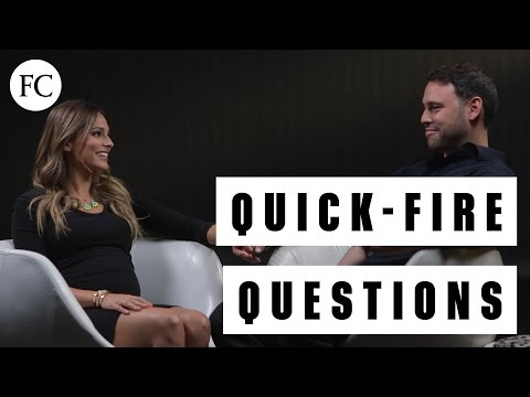 Power Couple Yael Cohen Braun & Scooter Braun Answer Quick-FIre Questions