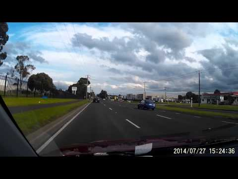 G1W Dash Camera Test 1080p - Daytime / Sunny - Australia, Victoria, Melbourne