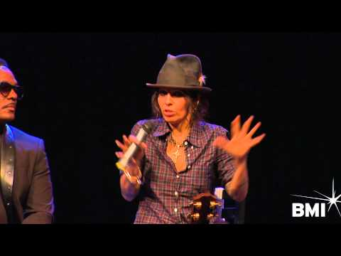 "Linda Perry on writing ""Beautiful"" at the 2014 HIWTS pre-GRAMMY event"
