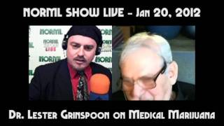Dr. Lester Grinspoon on Medical Marijuana, Past, Present, and Future
