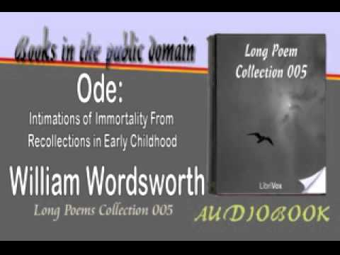 ode on intimations of immortality essay