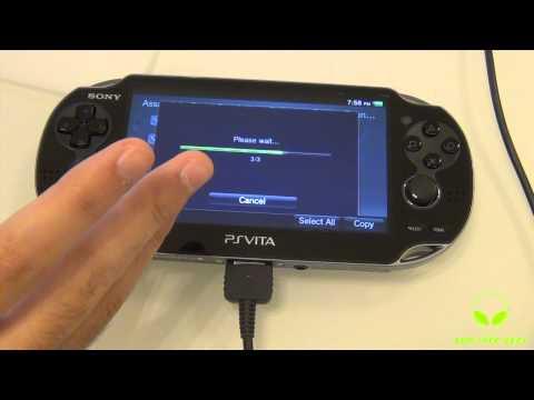 Tutorial PS Vita : How To Transfer Media ( Mac )