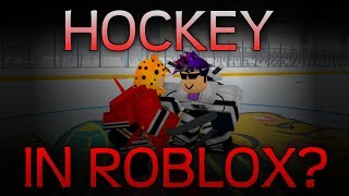 Playing HOCKEY WITH FRIENDS... on ROBLOX?