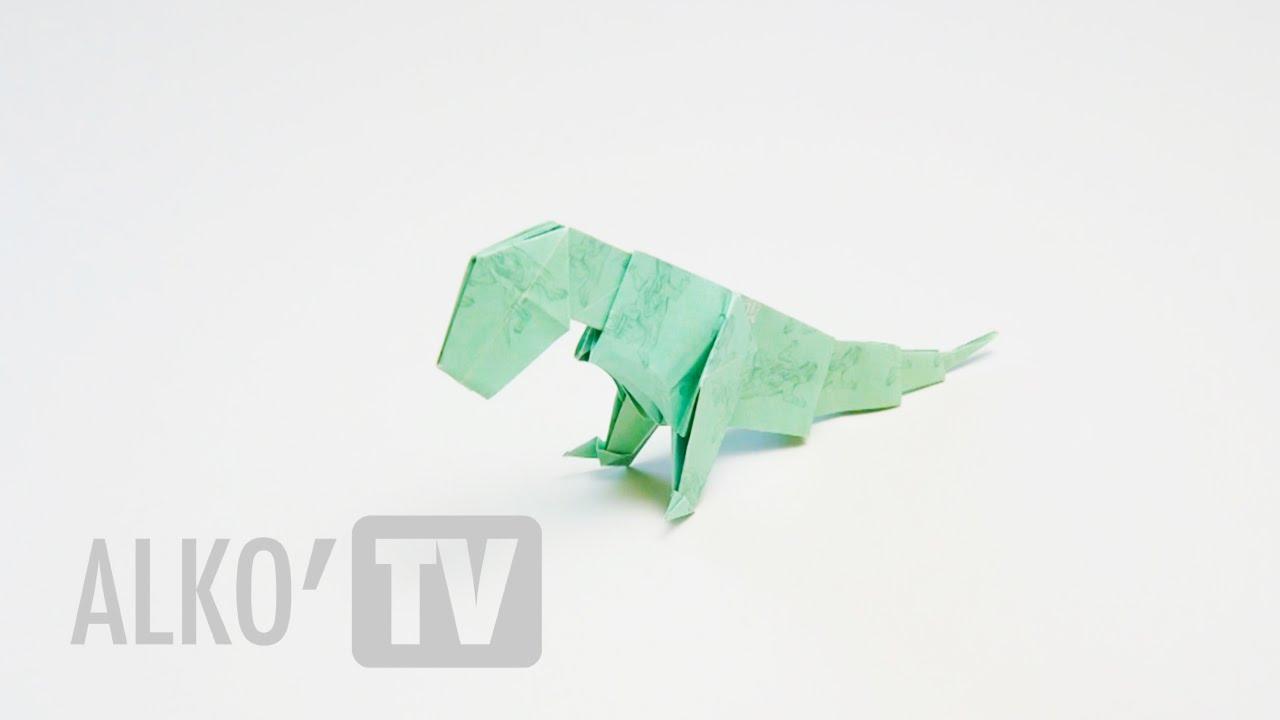 wasabi origami quotgodzillaquot youtube