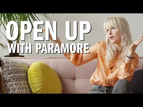 Open Up w Hayley Williams of Paramore — Urban Outfitters