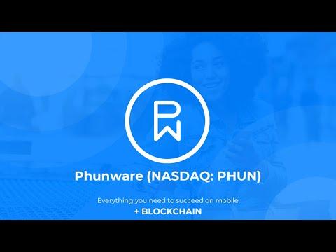 Phunware (NASDAQ: PHUN) - MaaS Plus Blockchain