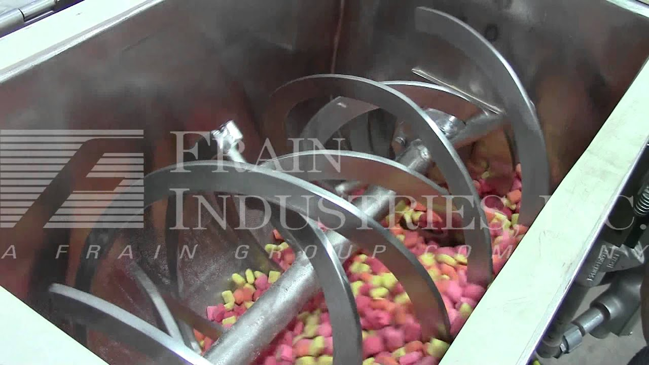 1 5 Ft 179 Stainless Steel Double Ribbon Mixer R24370 Youtube