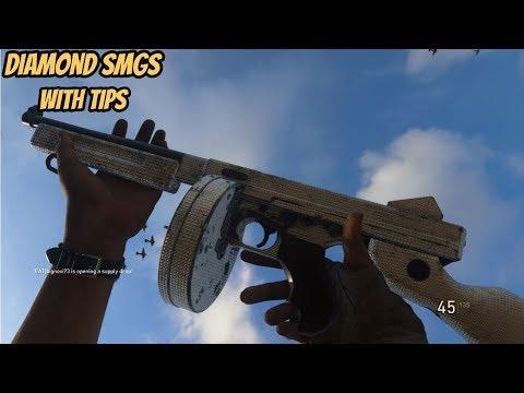 WW2 - Diamond Submachine Guns + Tips!!!!