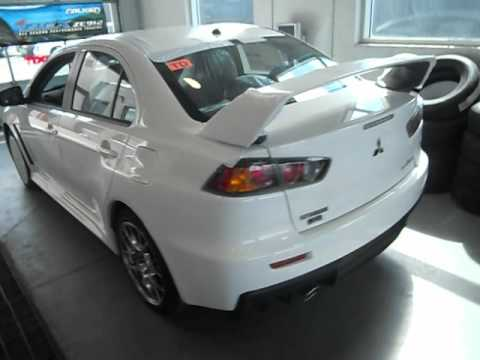 2013 mitsubishi lancer evolution gsr wicked white