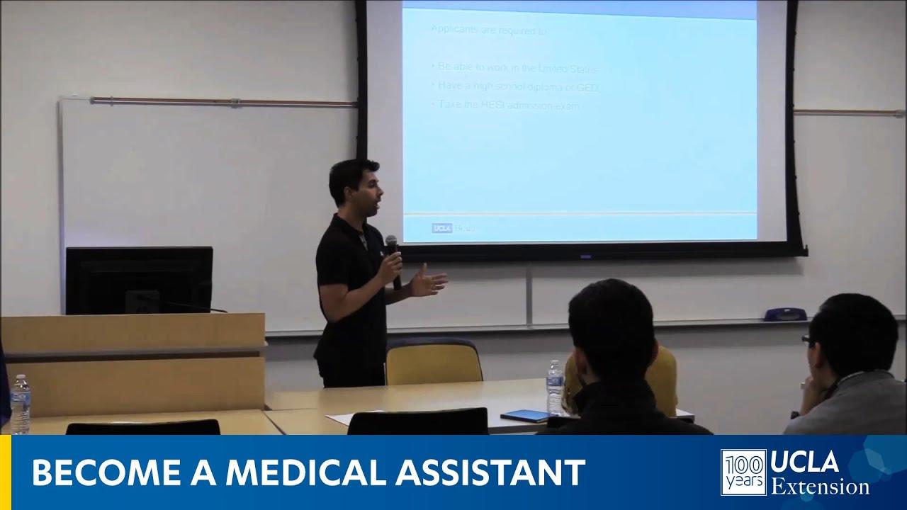 UCLA Health Medical Assistant Program   UCLA Continuing