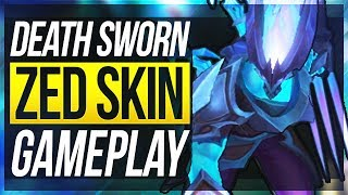 PAY 2 WIN SKIN? - New Death Sworn Zed Gameplay - League of Legends