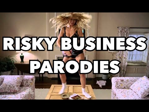 Tom Cruise's Top 6 Favorite Risky Business Parodies