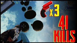 3 Flare Gun 41 KIlls Double Chicken Dinner | Jack Shukla Live