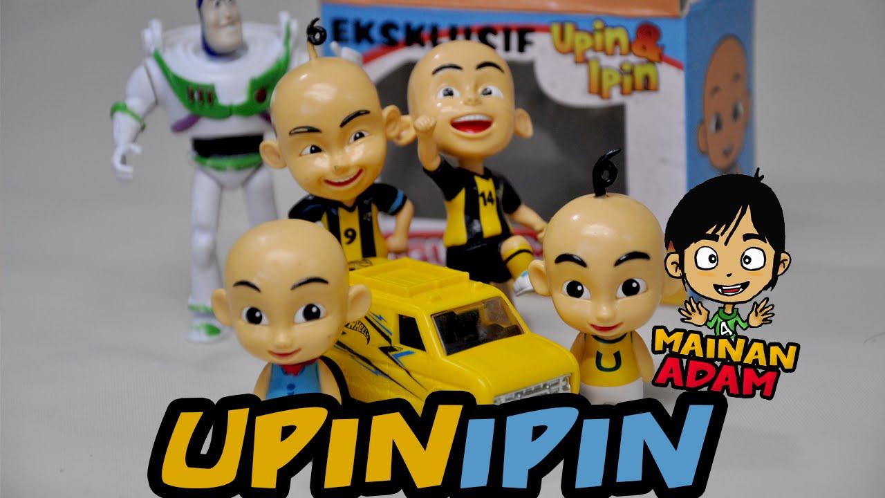 Main Upin Ipin - Patung Mainan Kanak-Kanak Upin Ipin - YouTube