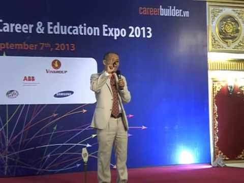 Career Builder Day 2013 - Hà Nội - Ông Nguyễn Mạnh Hùng