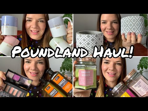 Poundland Haul | Poundland Makeup | Poundland Home | Amazing Finds | Kate McCabe