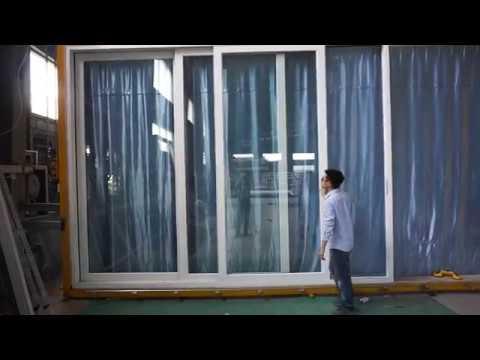 Thermal Break Aluminum Frame Stacking Door