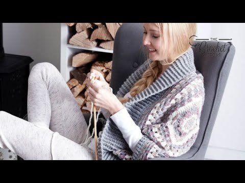 How to Crochet a Cardigan: Coziest Crochet Cardigan / Shrug