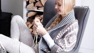 How to Crochet a Cardigan: Coziest Crochet Cardigan / Shrug
