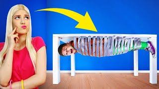 INSANE HIDE AND SEEK CHALLENGE || Who Last Stop Looking - Lose! Extreme Challenge by RATATA!