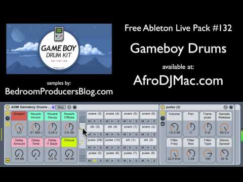 Gameboy Drums: Free Ableton Live Pack #132 — Brian Funk