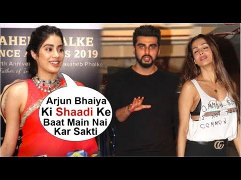 Jhanvi Kapoor Openly SPEAKS About Brother Arjun Kapoor's WEDDING To Girlfriend Malaika Arora