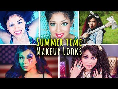 Summer Makeup Tutorial COMPILATION!